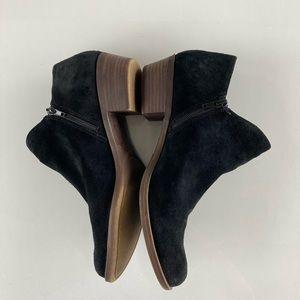 Lucky Brand Black Zipper Booties size 9.5m